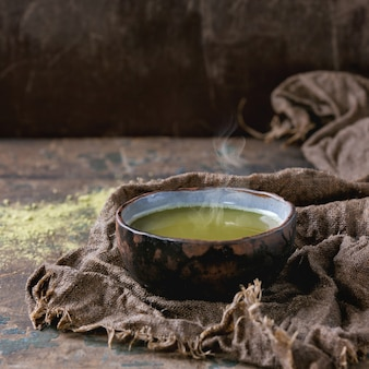 Filiżanka herbaty matcha