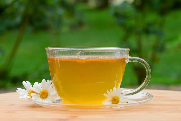 Filiżanka herbaty z rumiankiem