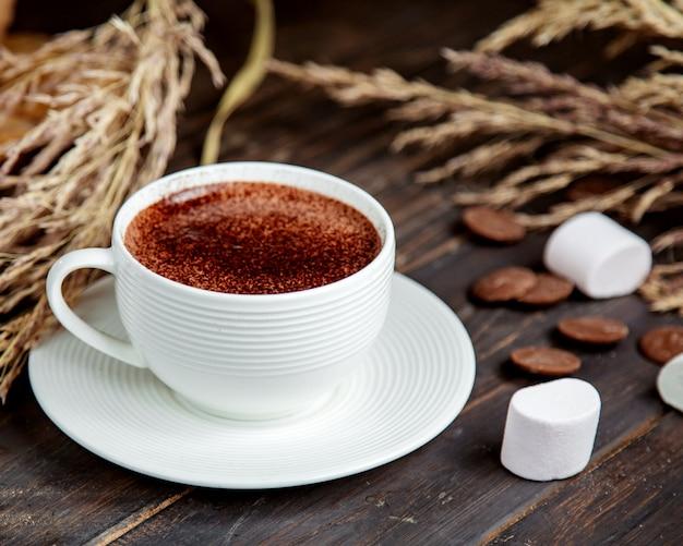 Filiżanka kakao z pianką