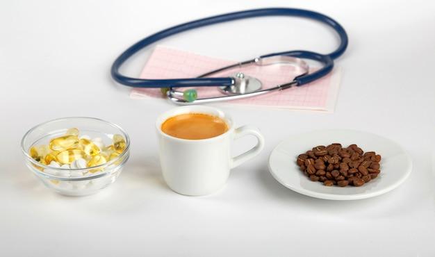 Filiżanka kawy i ciśnienie krwi.