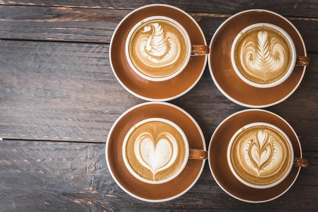 Filiżanka Kawy Latte Darmowe Zdjęcia
