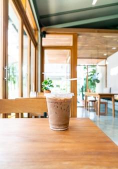 Filiżanka mrożonej kawy mokka
