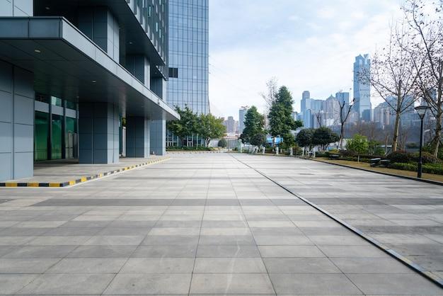 Financial center plaza i budynek biurowy, chongqing, chiny