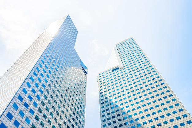 Finanse finansowy miasta zewnętrzne światło