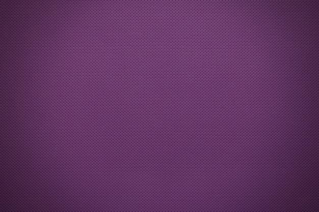Fioletowa faktura tkaniny z winietowaniem