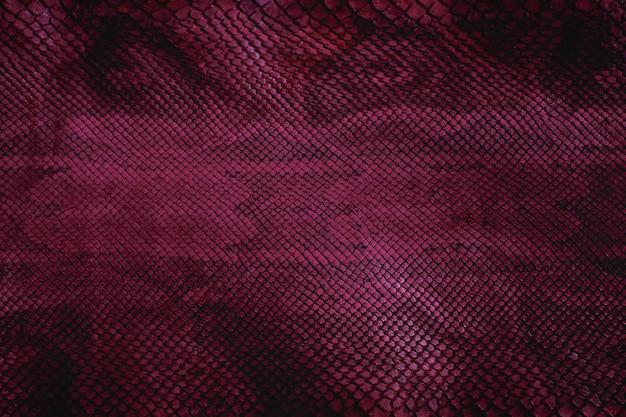 Fioletowa skóra węża z fakturą, gad