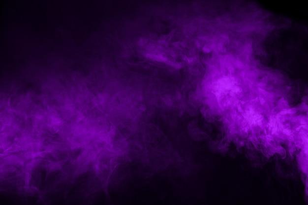 Fioletowe tło dymu