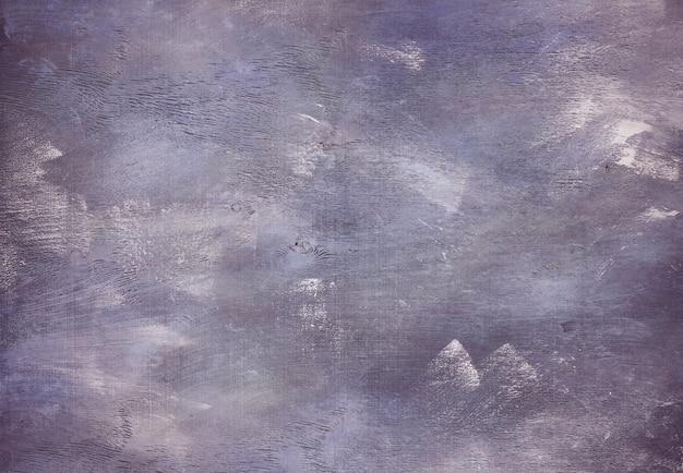 Fioletowy kolor pociągnięcia pędzlem malowane tekstury tła