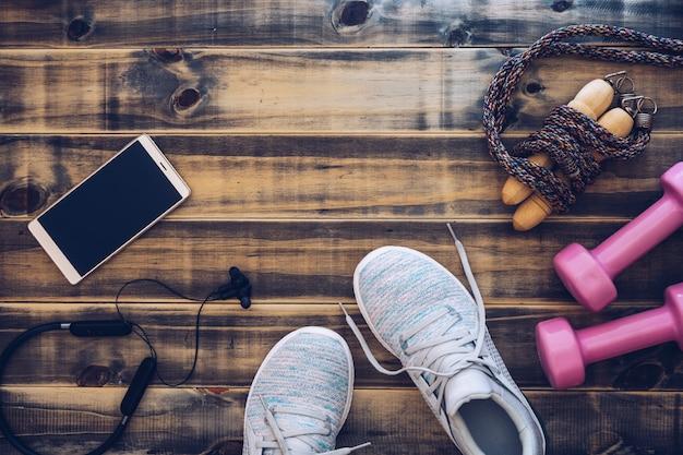 Fitness i koncepcja zdrowego aktywnego stylu życia.