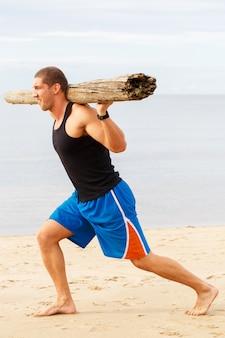 Fitness na plaży