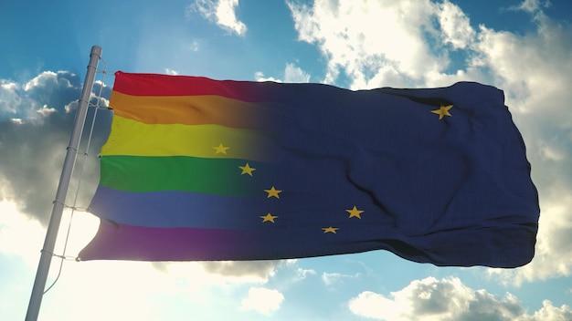 Flaga alaski i lgbt