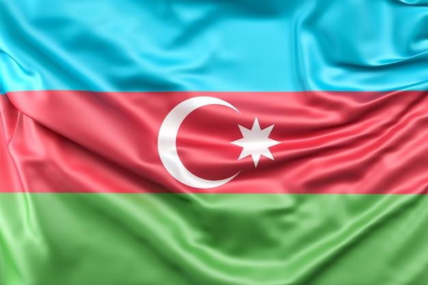 Flaga azerbejdżanu