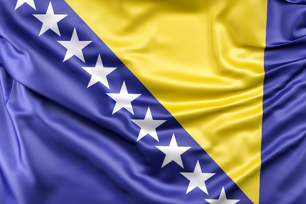 Flaga bośni i hercegowiny
