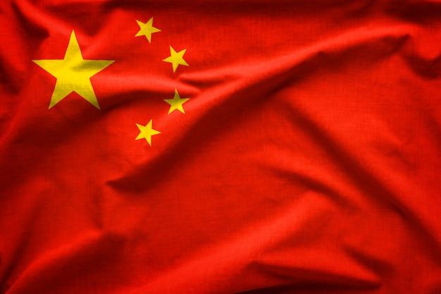 Flaga chińskiej republiki ludowej