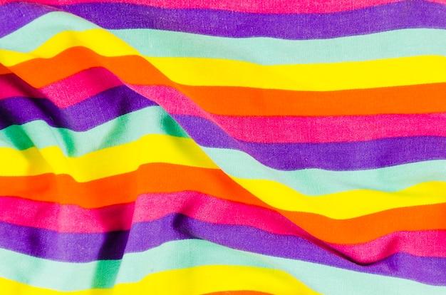 Flaga dnia dumy z kolorami tęczy