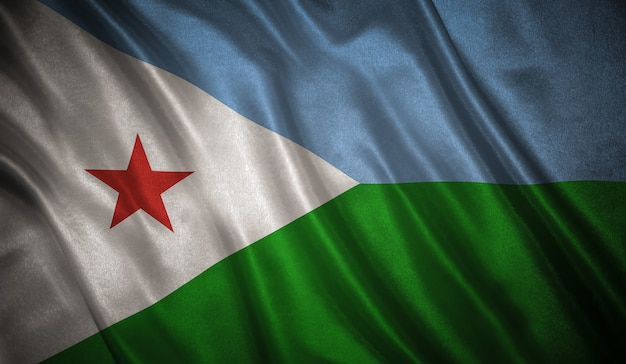 Flaga dżibuti
