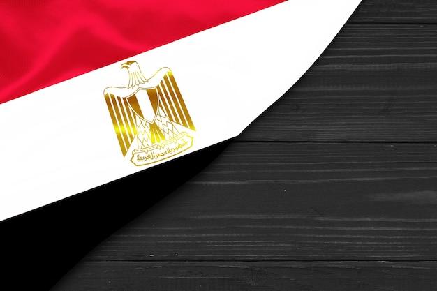 Flaga egiptu kopia przestrzeń