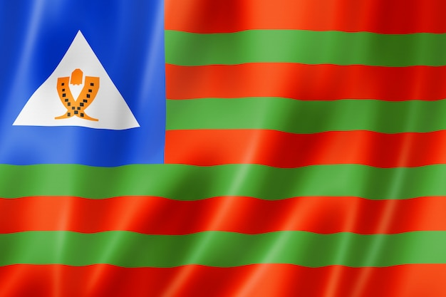 Flaga etniczna bubis, afryka