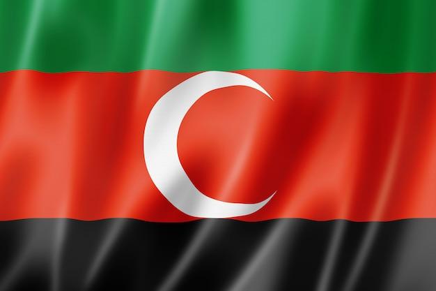 Flaga etniczna darfur, afryka