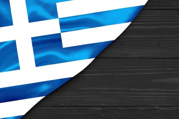 Flaga grecji kopia przestrzeń