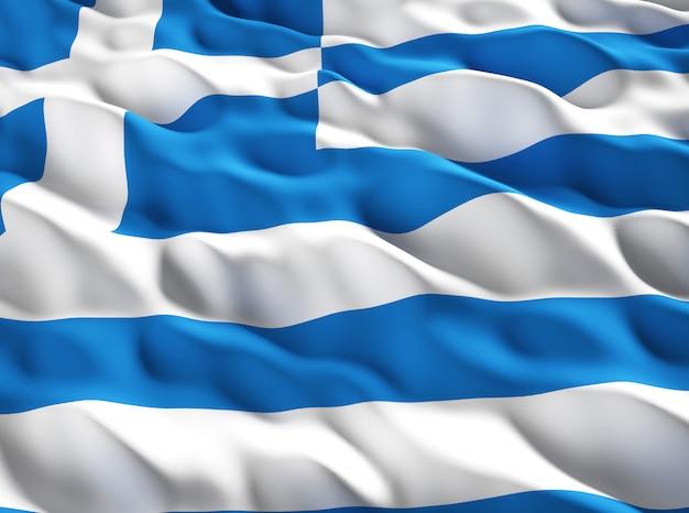 Flaga grecka