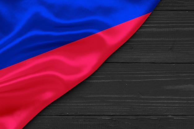 Flaga haiti kopia przestrzeń