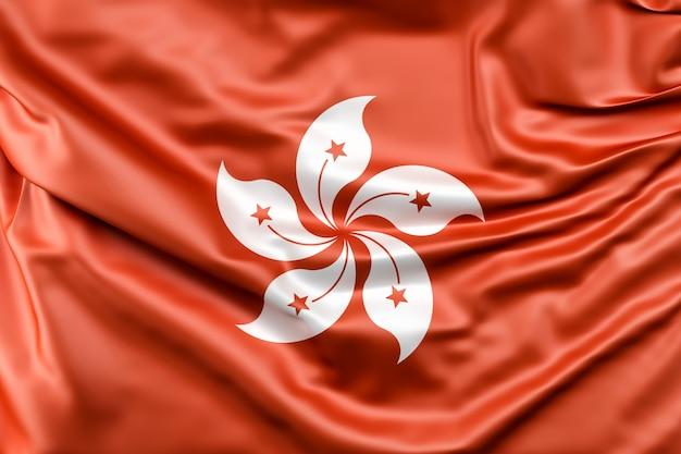 Flaga hongkongu