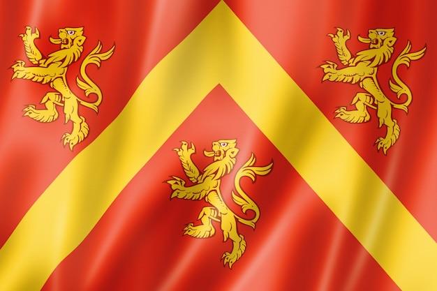 Flaga hrabstwa anglesey, wielka brytania