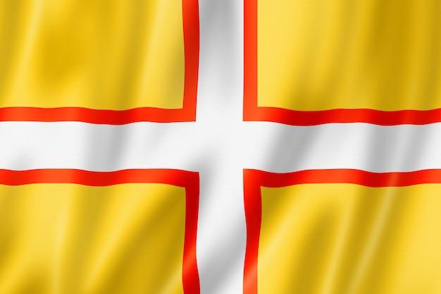 Flaga hrabstwa dorset, wielka brytania