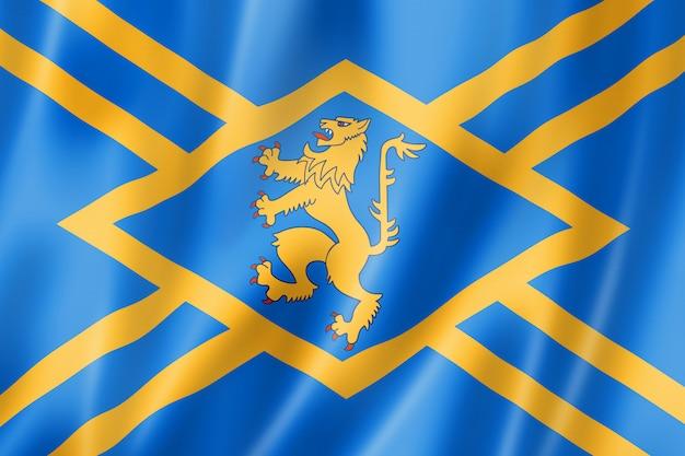 Flaga hrabstwa east lothian, wielka brytania