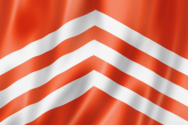 Flaga hrabstwa glamorgan, wielka brytania