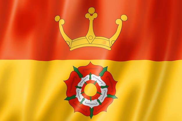 Flaga hrabstwa hampshire, wielka brytania