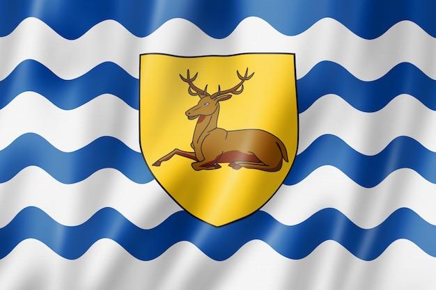 Flaga hrabstwa hertfordshire, wielka brytania