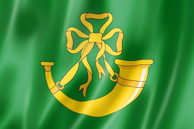 Flaga hrabstwa huntingdonshire, wielka brytania