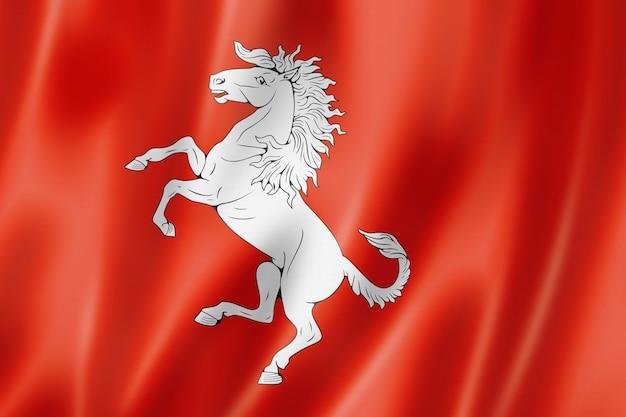 Flaga hrabstwa kent, wielka brytania