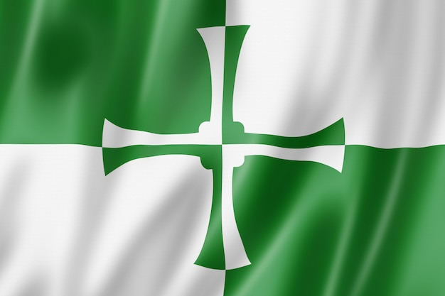 Flaga hrabstwa kirkcudbrightshire, wielka brytania