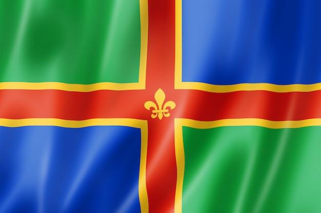 Flaga hrabstwa lincolnshire, wielka brytania