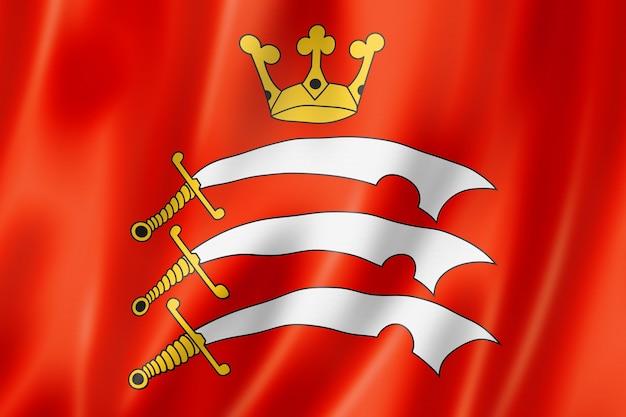 Flaga hrabstwa middlesex, wielka brytania