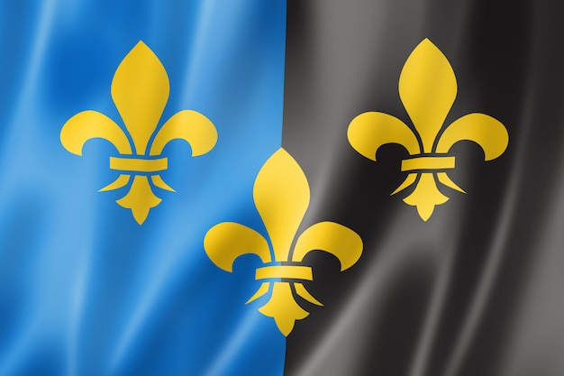 Flaga hrabstwa monmouthshire, wielka brytania