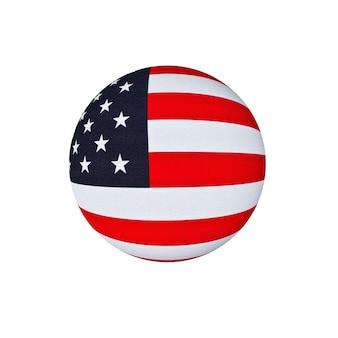 Flaga insygnia globe ikoną sztuki