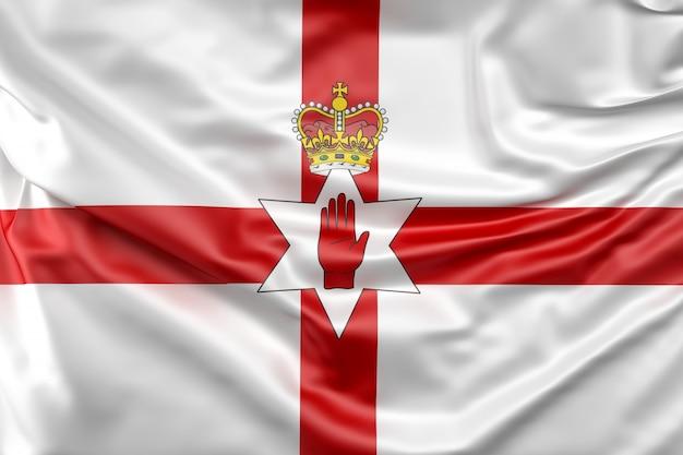 Flaga irlandii północnej