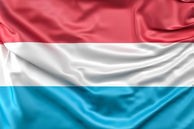 Flaga luksemburga