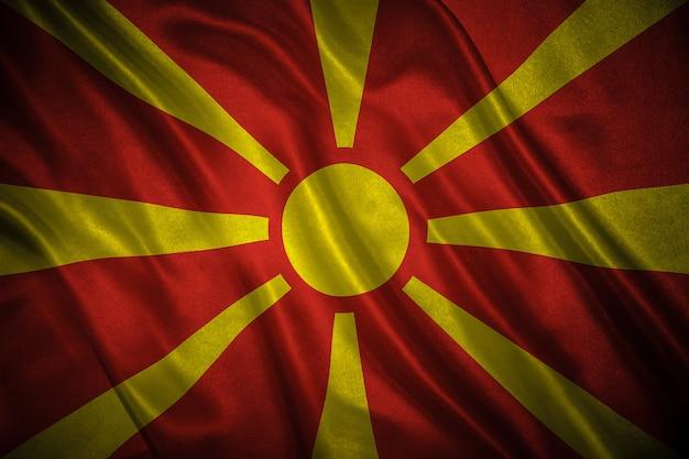 Flaga macedonii