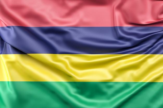 Flaga mauritiusa