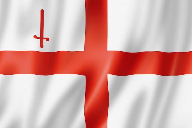 Flaga miasta londyn, wielka brytania
