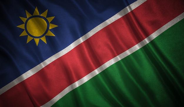 Flaga namibii