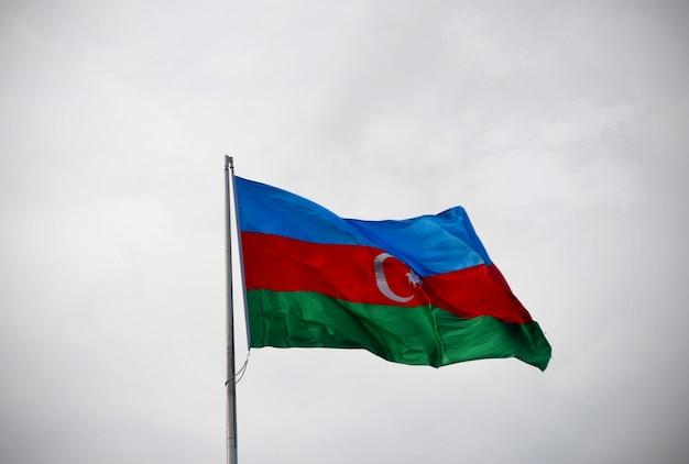 Flaga narodowa azerbejdżanu
