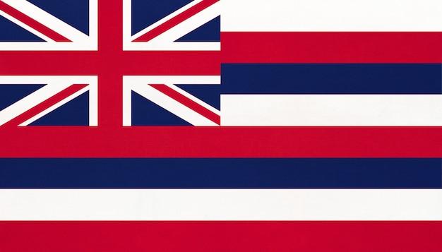 Flaga narodowa hawajów