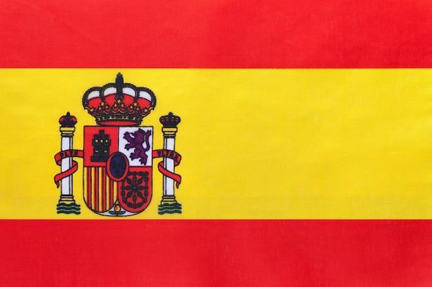 Flaga narodowa hiszpania tkaniny