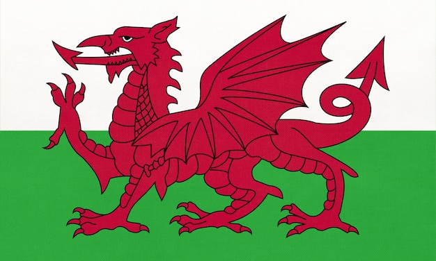 Flaga narodowa walii